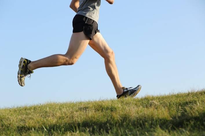 laufen stärkt Muskeln und Lungen
